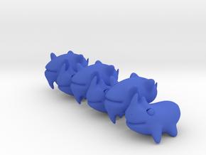 Rhinoceros Beans in Blue Processed Versatile Plastic