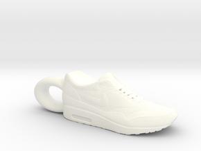 Nike Air Max 1 Sneaker Pendant in White Processed Versatile Plastic