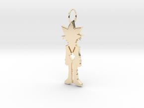 Yugi Pendant in 14K Yellow Gold