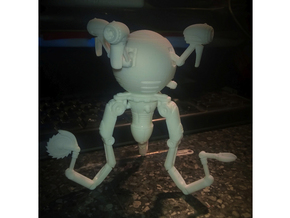 Mr. Handy Robot Large in White Strong & Flexible