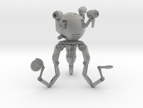 Mr. Handy Robot Large in Metallic Plastic