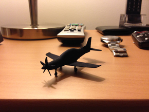 PC-21 Turboprop 10cm highly detailed in Black Professional Plastic