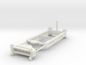 000142 low loader swivel HO in White Natural Versatile Plastic