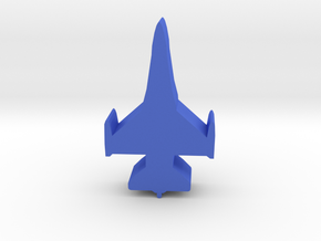 Game Piece, Blue Force Falcon Fighter in Blue Processed Versatile Plastic
