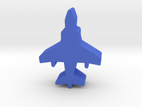 Game Piece, Blue Force Harrier Fighter in Blue Processed Versatile Plastic