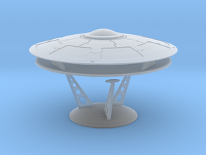 5 Inch Olympus Saucer Kit With Stand in Smooth Fine Detail Plastic