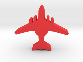 Game Piece, Red Force AWACS in Red Processed Versatile Plastic
