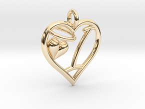 HEART I in 14K Yellow Gold
