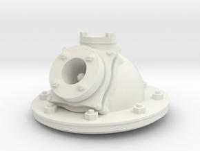 Zylinderkopf für Kromhout Motor 1/6 in White Natural Versatile Plastic