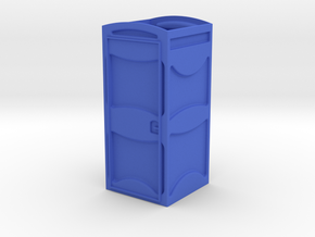 1/32 Porta-John II ~ Part 1 of 2 in Blue Processed Versatile Plastic