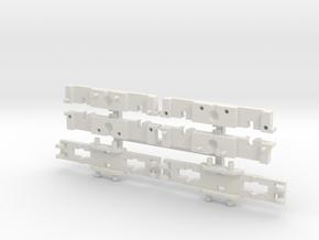 B4 DG Paar - große Ausführung, teilbar in White Strong & Flexible
