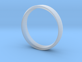 Mobius Ring Plain Size US 9.75 in Smooth Fine Detail Plastic