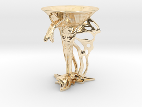 Lux Draconis 007  in 14k Gold Plated Brass
