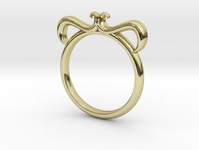 Petal Ring Size 5.5 in 18k Gold