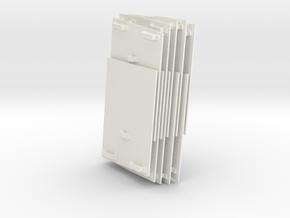 1/16 Pz IV Schurtzen (Part 4) in White Strong & Flexible Polished