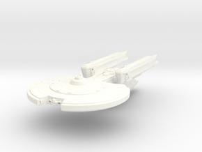 Carter Class Cruiser in White Processed Versatile Plastic