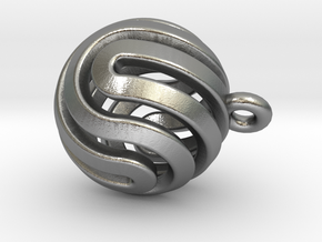 Ball-smaller-14-4 in Raw Silver