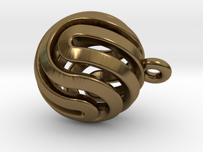 Ball-smaller-14-4 in Polished Bronze