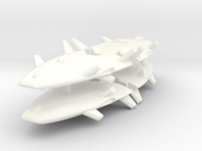Harasser 1-1000 Flight in White Processed Versatile Plastic