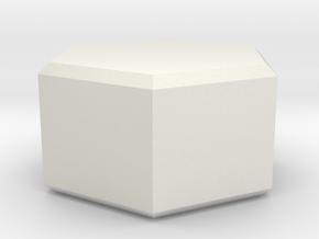 OD Fundus - Tension Screw Knurled Insert in White Natural Versatile Plastic
