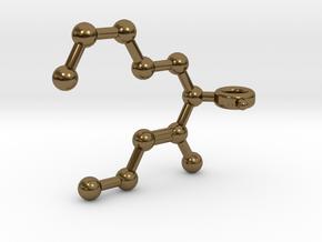 Undecavertol in Polished Bronze