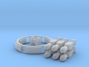 Steuerrad Bausatz in Smooth Fine Detail Plastic