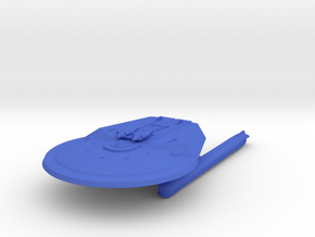 1/2500 Heavy Frigate Joshua Paul (solid naceles) in Blue Processed Versatile Plastic