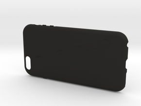 Customizable iPhone 6 plus case in Black Strong & Flexible