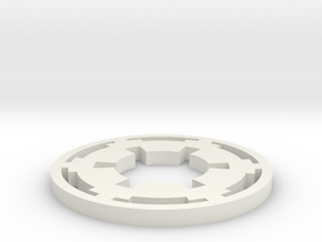 EmpireOrder V3 in White Natural Versatile Plastic