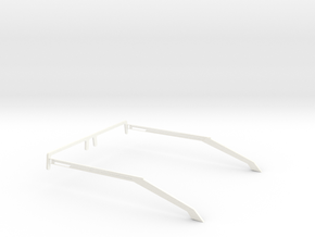 Glasses - Type1 in White Strong & Flexible Polished