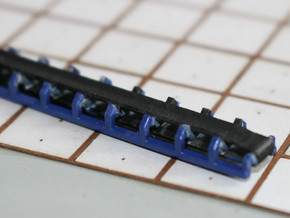 N Scale Trough Conveyor 120mm in Smooth Fine Detail Plastic