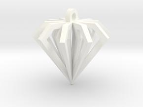 Diamond Forever in White Processed Versatile Plastic
