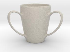 Coffee mug #2 - 3 Handles in Natural Sandstone