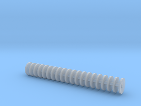 1/64 disc gang 2.2 inches in length.  in Smooth Fine Detail Plastic
