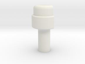 KR Lightsaber Emmiter V5 Button in White Strong & Flexible