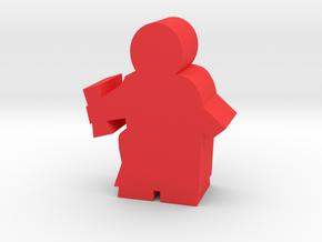 Game Piece, Roman Senator in Red Processed Versatile Plastic