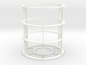 Red Bull Sleeve - 8.3oz in White Processed Versatile Plastic