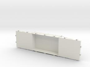 A-7-8-wdlr-f-wagon-body in White Natural Versatile Plastic
