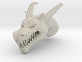 Dragon Head in Natural Sandstone