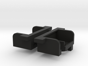 Tamiya Clodbuster Taillight Housing, 1 of 2 in Black Natural Versatile Plastic