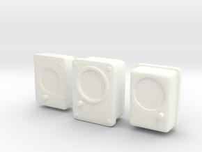 1/18 USN Gauges Set in White Processed Versatile Plastic