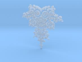 Mandelbrot Fractal Design in Smooth Fine Detail Plastic