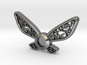 Navi Pendant in Polished Silver