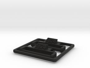 Model 1824 G-Shock NATO/ZULU adapter in Black Natural Versatile Plastic