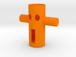 104102216 藍子超筆筒 鑰匙架 in Orange Strong & Flexible Polished