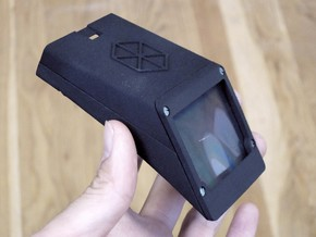 Public Lab Smartphone Spectrometer in Black Natural Versatile Plastic