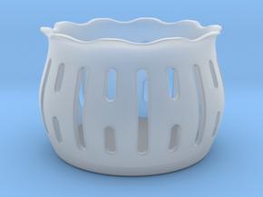Tea Light Holder Line in Smooth Fine Detail Plastic