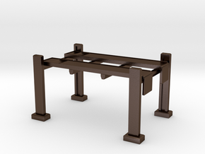 Hotwheels Hoist 1:64 Scale - Display Stand in Polished Bronze Steel