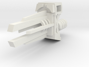 Ratchetrooper Weapon 08 - Railgun in White Natural Versatile Plastic