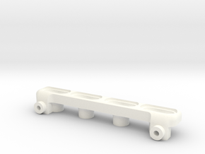 Bomber U4 Rear light Bar in White Processed Versatile Plastic